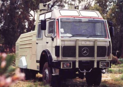 7,000 L Capacity on Crew Cab MB Chassis