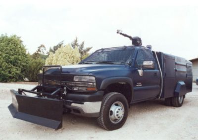 2,500 L Capacity on a Single Cab GM Silverado Chassis